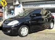 Nissan tiida 2010 visia color negro