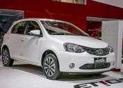 Toyota etios platinum entrega inmediata, contactarse.