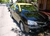Taxi toyota etios 2015 full con licencia !