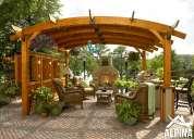 Alpina construcciones - expertos en techos de madera, pergolas y decks