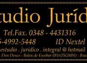 Estudio jurídico integral dr. edgardo alejandro lópez & dra. mariana baschuk abogados asociado