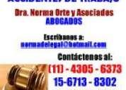 abogados,laboralistas,penal,divorcios,desalojos,sucesiones.25años experiencia.consulte ya