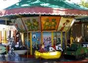 Calesita con 10 kidis posibilidad fondo de comercio coghlan
