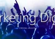 Promo: diseño sitio web + host + dominio + marketing digital