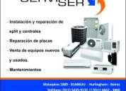 Venta , instalacion y reparación de aires acondicionados.