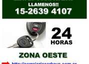 Cerrajero 24 hs en ciudad jardin tfno (15 2639 4107)