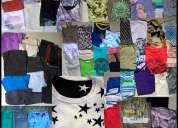 Vendo liquido ropa mujer hombre camisas pantalones remeras shorts calsas accesorios usada