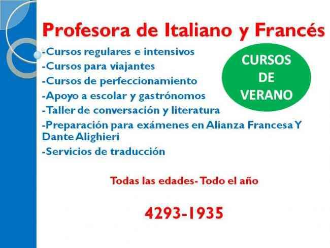 FRANCES O ITALIANO PREVIA? APROBA!!!!