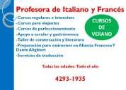 Este verano mas alumnos eligen frances e italiano! sumate!