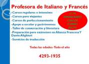 Abierta la inscripcion gratuita para frances e italiano!!!!