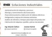 Automatismos y servicios electromecánicos industriales