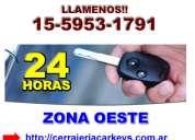 Cerrajeria de autos zna jose c paz contactese (15-59531791)