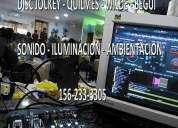 Disc jockey quilmes pantalla gigante zona sur quilmes 156-233-3305