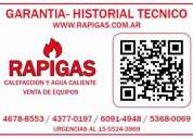 Service de caldera baxi zona de puerto madero 4678-8553