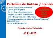 Seguimos adelante con los cursos de francÉs e italiano!!!