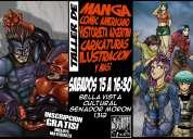 Clases de manga y comics en bella vista