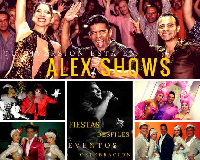 Shows para eventos sociales y empresariales