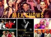 Shows para eventos sociales y empresariales