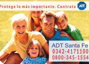 Adt santa fe 0342-4171100 - 0$ instalación