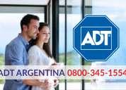 Adt - alarmas monitoreadas en villa constitución 0341-5278755