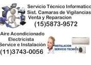 servicio de reparación y venta pc,instalación y mantenimiento de circuitos de vigilancia