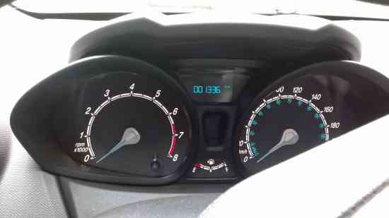 Ford Fiesta S 5/9/2016 excelente 2500 Km 1.6cc