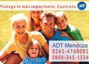 Adt alarmas mendoza 0800-345-1554  0$ instalación
