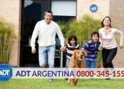 Alarmas hogar y empresa en malargue  0800-345-1554  - adt alarmas