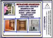 # carpintero / trabajos e instalaciones