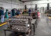 Rectificación de motores, armado, puesto en marcha, colocado en el vehículo
