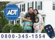 Adt alarmas 0800-345-1554 - 0$ instalación -  cobertura en todo el país.