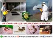 Fumigaciones orgánicas (sin tóxicos sin olor)