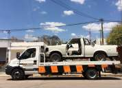 Camión plancha para auxilio automotor