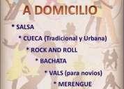 Bailarin a domicilio profesor a domicilio vals rock tango cumbia cuarteto bachata salsa reggaeton