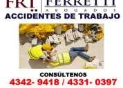 Abogado accidente de trabajo en monserrat tribunales telef 43429418