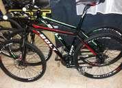 Bicicletas venzo 30 veloc. full deore equip. frenos hidraulicos