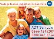 Alarmas para casas en san luis 0800-345-1554 adt