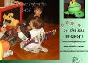 Titeres, animaciones infantiles mix 4755-2355