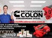 Rectificadora colon: rectificación de motores para camiones y línea pesada 4267-8532