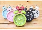 Lote de 6 x reloj campana mediano - ideal reventa!!!