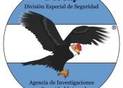 Descapseg srl. agencia de investigaciones y seguridad privada.