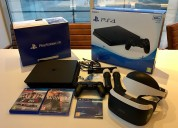 En venta sony playstation vr + ps4 500gb console ars 3,082 peso