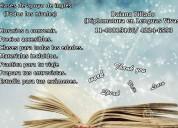 Clases particulares de inglés en quilmes
