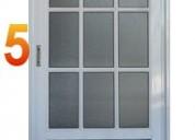 Puertas aluminio vidrio 25 mm nuevas envios