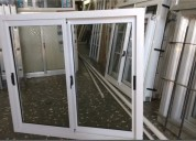 Ventana aluminio herrero vidrio entero incluido varias medidas