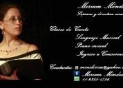 Canto Comedia Musical Formación Vocal