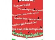 Aprenda portugues en todo el país!