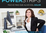Powerstrips parche natural fgxpress alivia dolores musculares y contracturas