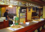 Pizeria ,local dueño con gas, sin llave,sin gastos centro funes...