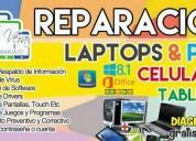 Reparacion de tablets celulares y computadores.